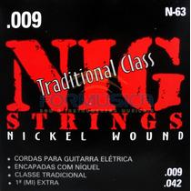 Encordoamento Nig Para Guitarra Calibre 009 Traditional