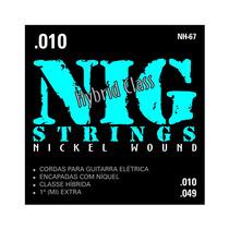 Cordas Nig Para Guitarra - Hybrid Class - Nh-67 - .010/.049