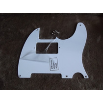 Escudo Telecaster 52 Humbucker Fender 1 Camada Branco