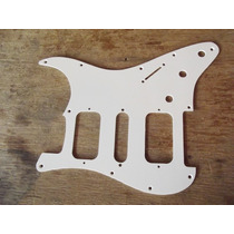 Escudo Strato Branco Padrao Fender Am Std H-s-h 11 Furos