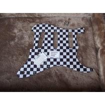 Escudo Strato Ed. Limitada Custom Xadrez Fender Am Std Sss