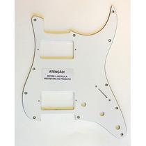Escudo Para Guitarra Strato Hh Branco - Es6175wh - Spirit