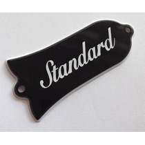 Truss Rod Cover Modelo Gibson Standard - Made In Japan