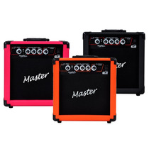 Cubo Ampli Caixa Guitarra Gt 15w Master Preto Laranja Rosa