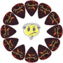 Palheta Guitarra Fender Média Tortoise Shell 12un Loja