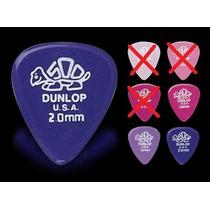 Palhetas Jim Dunlop - Delrin - Gels - 10 Unid.