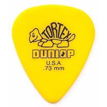 50 Palheta Dunlop Tortex Standard 0.73mm Pronta Entrega