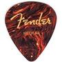 Kit Com Três Palhetas Fender Medium (tortoise) R$10