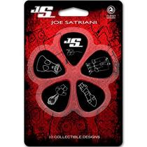Kit 10 Palhetas Guitarra Joe Satriani Signature Planet Waves