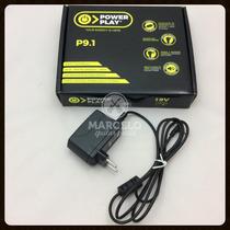 Fonte Power Play P9.1para 1 Pedal 9v Dc 2000ma,promoção!!!