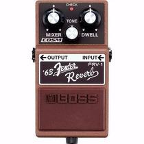 Pedal De Efeito Boss Fender Frv-1 Reverb Para Guitarra C/nfe