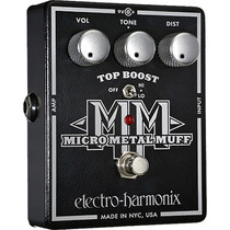 Pedal Electro Harmonix Micro Metal Muff Distortion