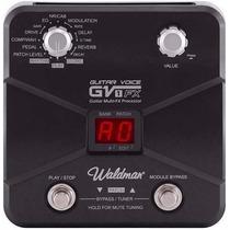 Pedalera De Efeitos Waldman Gfx10 Com Amplificador De Fone