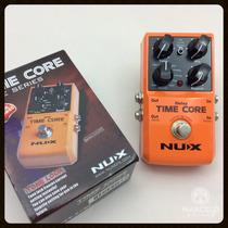 Pedal Nux Time Core Delay,pronta Entrega,+brindes!