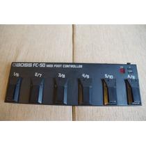 Boss Fc-50 Midi Foot Controller