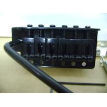 Ponte Guitarra Tipo Strato Preta Kit Completo