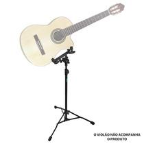 Suporte Pedestal Ask Egv Violão Guitarra Ajuste P Usar Em Pé