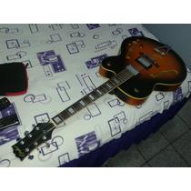 Guitarra Semi Acústica Jc 601-sb Condor