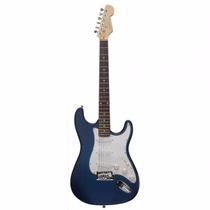 Guitarra Condor Stratocaster Crx-10 Azul Fosco Frete Grátis