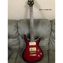 Guitarra Condor Vermelha Linda - Pedal Incluso E Brindes Top