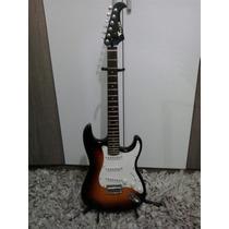 Frete Grátis Guitarra Eagle Stratocaster Sts 001 + Brindes