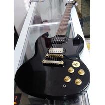 Guitarra Epiphone Sg G400 Gothic Com Cap Seymour Duncan Jb