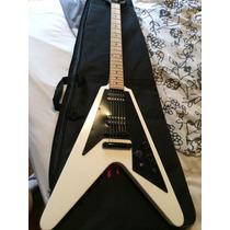 Guitarra Epiphone Flying V 67 Negative