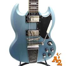 Guitarra Gibson Epiphone Sg Pelham Blue Les Paul Custom Loja