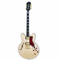 Guitarra Epiphone Semi Acústica Sheraton Ii Natural C/bag