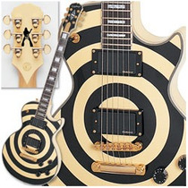 Guitarra Epiphone Zakk Wylde Les Paul Custom Plus Bullseye