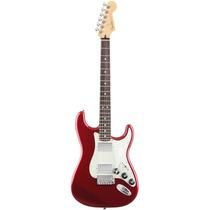Guitarra Fender Blacktop Stratocaster Hh Na Cheiro De Música