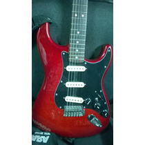 Guitarra Fender México Strato Captadores Noiseless C/ Case