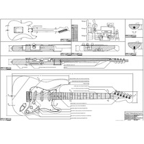 Planta Fender Stratocaster