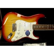 Fender Stratocaster American Standard Ash Sienna Burst 2011