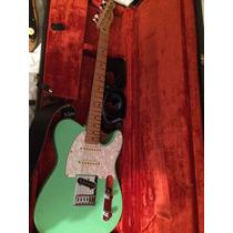 Fender Telecaster Surf Green - Trocas Por Strato Ou Les Paul