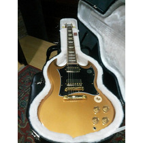 Gibson Sg Standard Exclusive Gold - Wood Music
