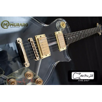 Guitarra Lp Art Pro Les Paul De Acrílico + Case Envio Grátis