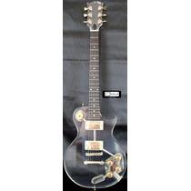 Guitarra Lp Art Pro Les Paul De Acrílico - Frete Grátis!