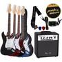Kit Guitarra Giannini G100 + Cubo Amp + Afinador + Correia