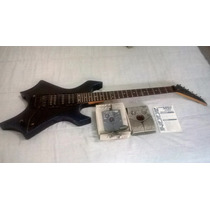 Guitarra Golden Warlock Gmap 555 Com Ponte Flutuante!