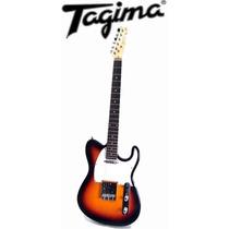 Guitarra Tagima Memphis Mg52 Telecaster Mg 52 Cor Sunburst