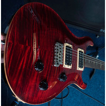 Paul Reed Smith Custom 24 Model Fire Red Burst