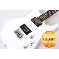 Guitarra Jackson Dinky Js11 Branca Regulada!