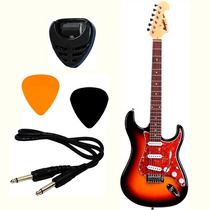 Guitarra Strato Memphis Tagima Mg-32 Sunburst + Brindes