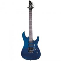 Guitarra Memphis Mg-230 Mb Azul Metal Stratocaste - Refinado