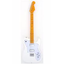 Guitarra Custom Telecaster Hh Branca Classic Maple 007 Tele