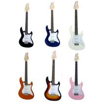 Guitarra Strinberg Strato Egs 216 Queima Total !!! Cor Preta