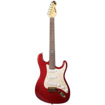 Guitarra | Stratocaster | Vermelha | Flame Top | Dolphin