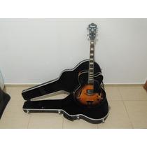 Guitarra Semi-acústica Ibanez Artcore Af 75 Com Case
