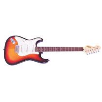 Guitarra Vintage Canhota V6 Ssb - Sunburst - Loja Física